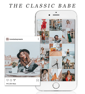 The Classic Babe | Lightroom Mobile Preset