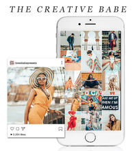 Load image into Gallery viewer, The Creative Babe | Lightroom Mobile Preset