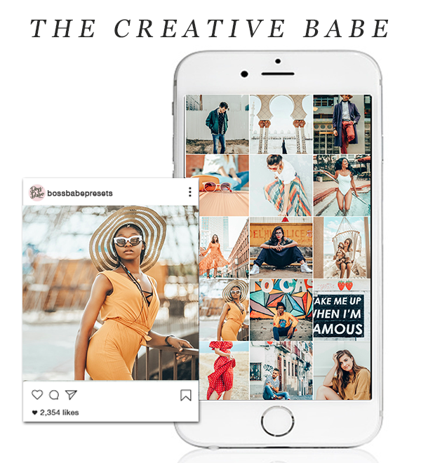 The Creative Babe | Lightroom Mobile Preset