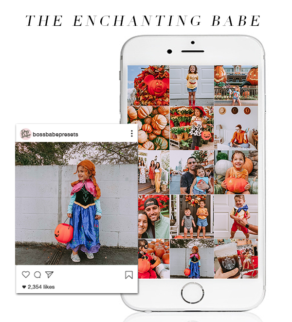 The Enchanting Babe | Lightroom Mobile Preset