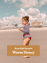 Load image into Gallery viewer, Warm Honey | Single Mobile Preset