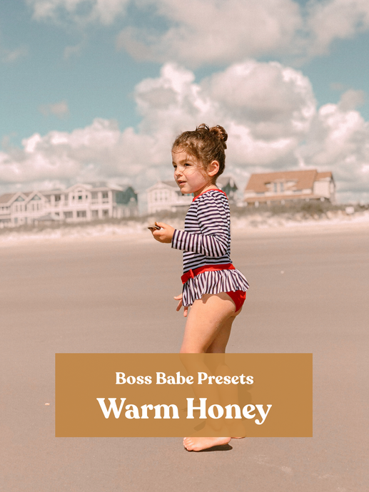 Warm Honey | Single Mobile Preset