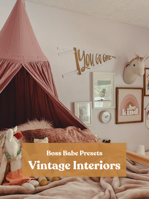 Vintage Interiors | Single Mobile Preset