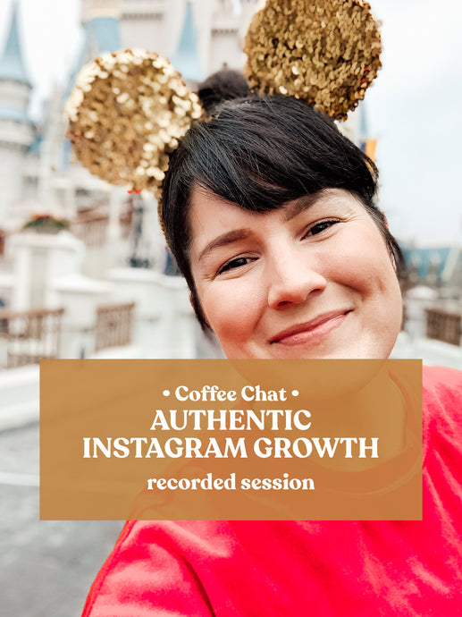 Authentic Instagram Growth RECORDED class | Watch Anytime