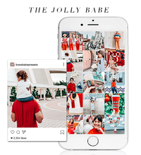 Load image into Gallery viewer, The Jolly Babe | Lightroom Mobile Preset