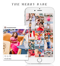 Load image into Gallery viewer, The Merry Babe | Lightroom Mobile Preset