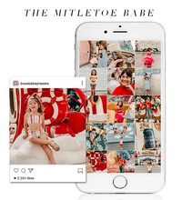 Load image into Gallery viewer, The Mistletoe Babe | Lightroom Mobile Preset