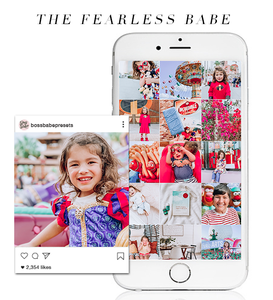 The Fearless Babe | Lightroom Mobile Preset
