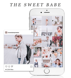 The Sweet Babe | Lightroom Mobile Preset