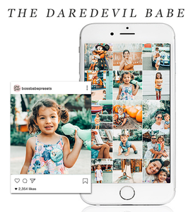 The Daredevil Babe | Lightroom Mobile Preset