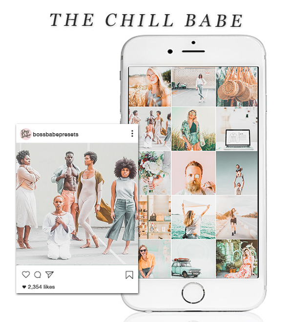 The Chill Babe | Lightroom Mobile Preset