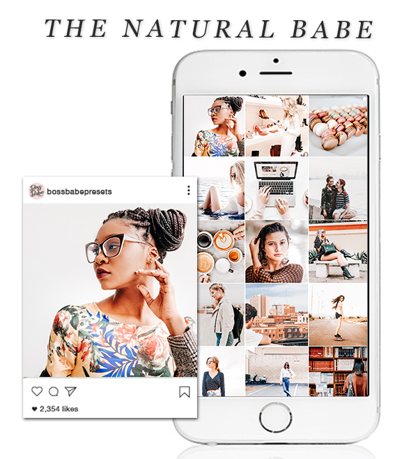 The Natural Babe | Lightroom Mobile Preset