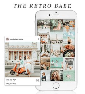 The Retro Babe | Lightroom Mobile Preset