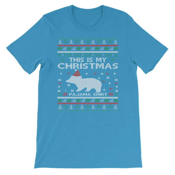 This Is My Christmas Pajama Short-Sleeve Unisex T-Shirt - Fashionmoxy