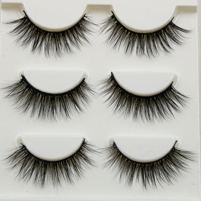 Pure Hand Cotton Thread False Eyelashes - Fashionmoxy