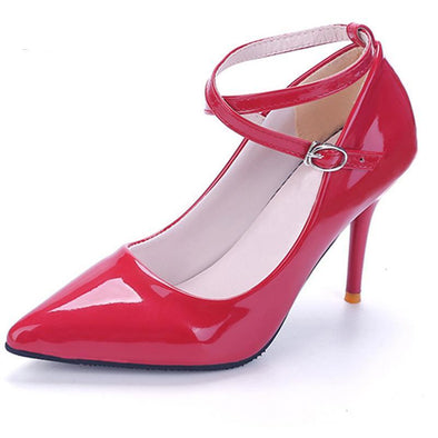 Top Quality High Heels Pointed Toe Pumps - Fashionmoxy