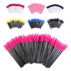 Plastic Handle Disposable Mascara Makeup Brushes - Fashionmoxy