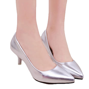Pointed Toe High Heels Fashion Sexy Shoes - Fashionmoxy