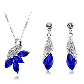 Crystal jewelry sets - Fashionmoxy