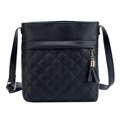 Soft PU Leather Cross Body Mini Handbag - Fashionmoxy