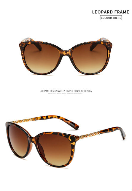 Protection  Cat Eye Mirror Sunglasses - Fashionmoxy