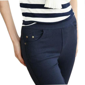 Ladies Pencil Jeans - Fashionmoxy