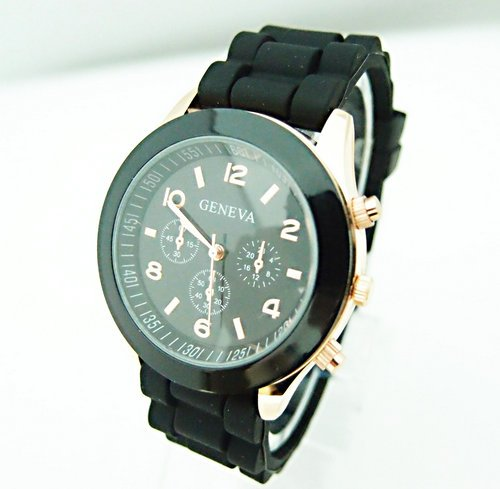 Hot Sales Silicone Dress Quartz Wristwatch - Fashionmoxy