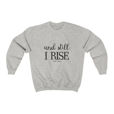 Earth 2 Jane 'I Rise' Sweatshirt