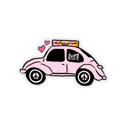 Earth 2 Jane 'Pink Bug' Sticker