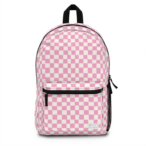 Earth 2 Jane 'Pink Checkers' Backpack (Made in USA)