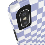 Earth 2 Jane 'Purple Checkers' Phone Case
