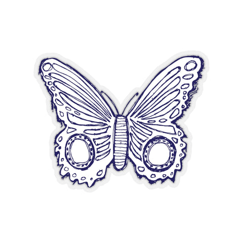 Earth 2 Jane 'Dark Purple Butterfly' Sticker