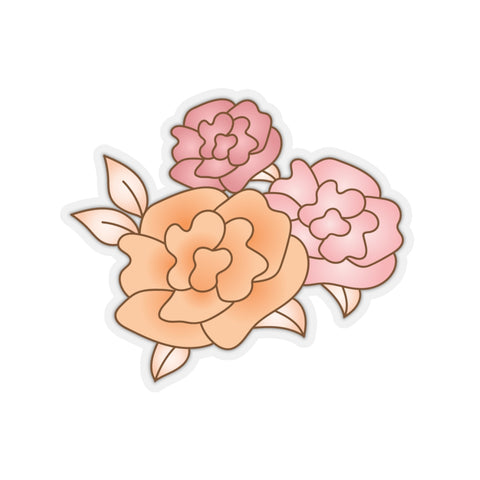 Earth 2 Jane 'Vintage Roses' Sticker