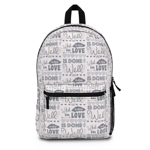 Earth 2 Jane 'In Love, Powder Pink' Backpack