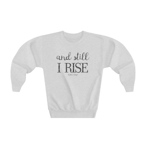 Earth 2 Jane 'I Rise' Youth Sweatshirt