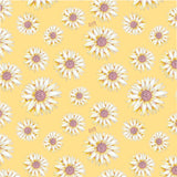 Earth 2 Jane 'Yellow Sunflower' Duvet Cover