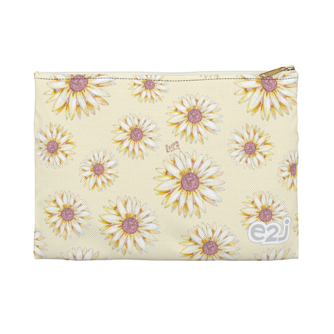 Earth 2 Jane 'Yellow Sunflower' Accessory Pouch