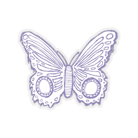 Earth 2 Jane 'Light Purple Butterfly' Sticker