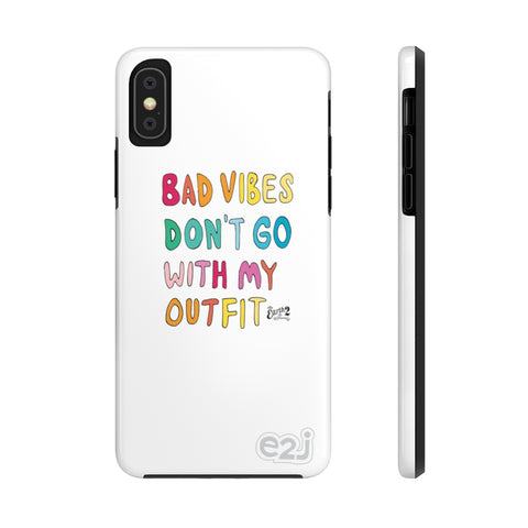 Earth 2 Jane 'No Bad Vibes' Phone Case
