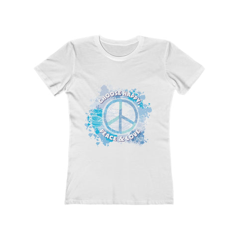 Earth 2 Jane 'Choose Peace' Boyfriend Tee