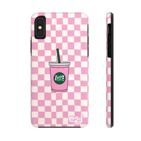 Earth 2 Jane 'Pinkity Drinkity' Phone Case