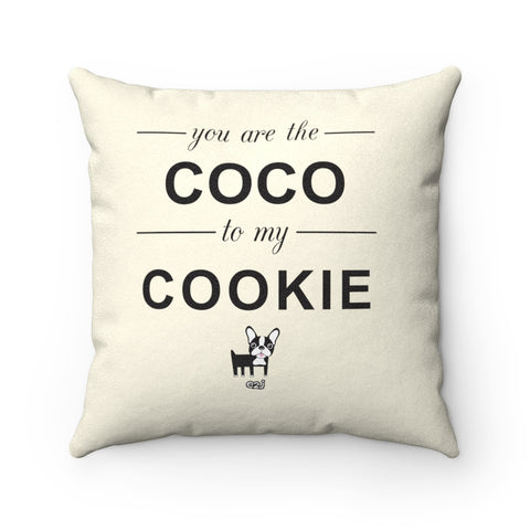 Earth 2 Jane 'COCO' Square Pillow