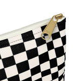 Earth 2 Jane 'Black Checkers' Accessory Pouch