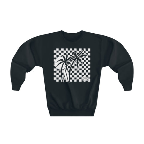 Earth 2 Jane 'Checker Palms' Youth Sweatshirt