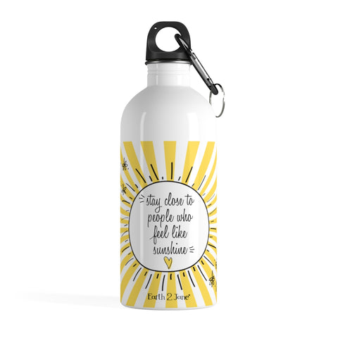 Earth 2 Jane 'Sunshine Vibes' Water Bottle