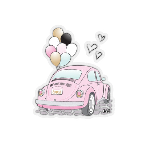 Earth 2 Jane 'Love Bug' Sticker