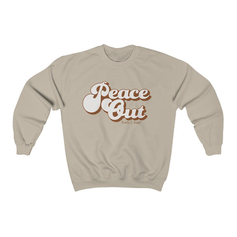 Earth 2 Jane 'Peace Out' Sweatshirt