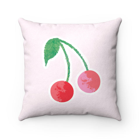 Earth 2 Jane 'Cherries' Square Pillow