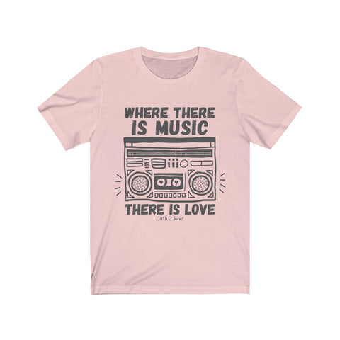 Earth 2 Jane 'Where There is Music'' T-Shirt