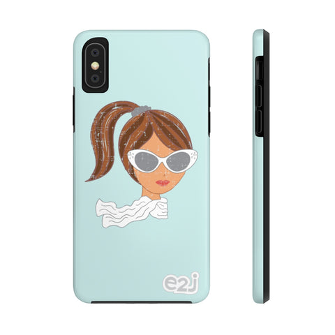 Earth 2 Jane 'Retro Tess' Phone Case